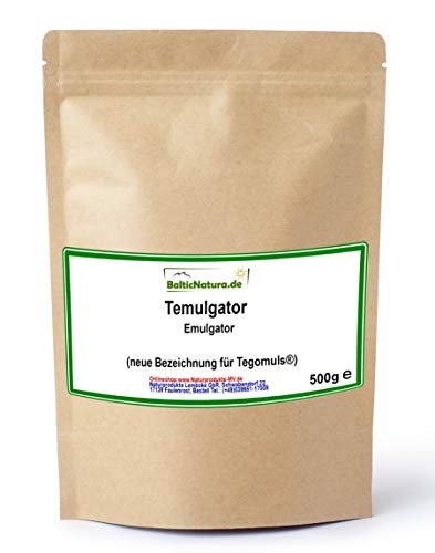 Temulgator (neue Bezeichnung für Tegomuls ®) Emulgator pflanzlich (500 g)