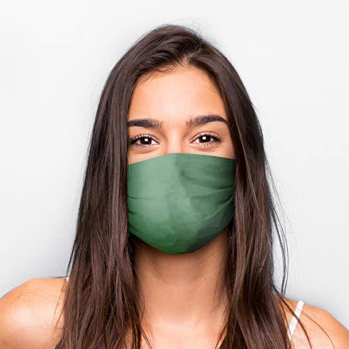 Generisch Kultmasken Mund Nasen Maske Grün