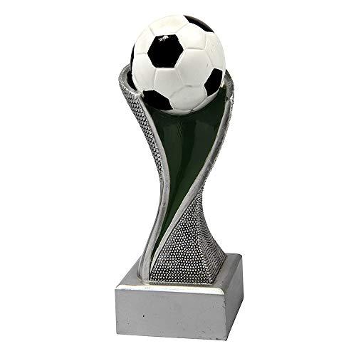 Larius Group Fußball Pokal Extra (220mm, 330gr.) mit/ohne Wunschgravur, Trophäe Ehrenpreis (ohne Wunschtext)