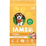 IAMS PROACTIVE HEALTH Smart Puppy Dry Dog Food with Real Chicken, 15...