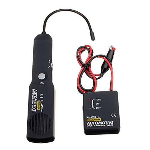Escáner de circuito de coche instantáneo Buscador de cables de automoción Detector profesional herramienta para automóviles camiones tractores barcos