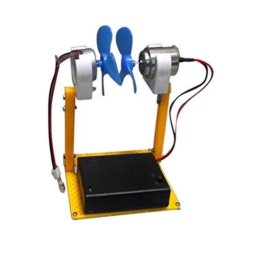 Tubayia DIY Mini Windturbinen Motor Generator Modell Kinder Physik Wissenschaft Pädagogisches Spielzeug