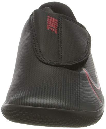 Nike Jr. Vapor 13 Club IC PS (V), Football Shoe, Black/Black-Dark Smoke Grey, 29.5 EU