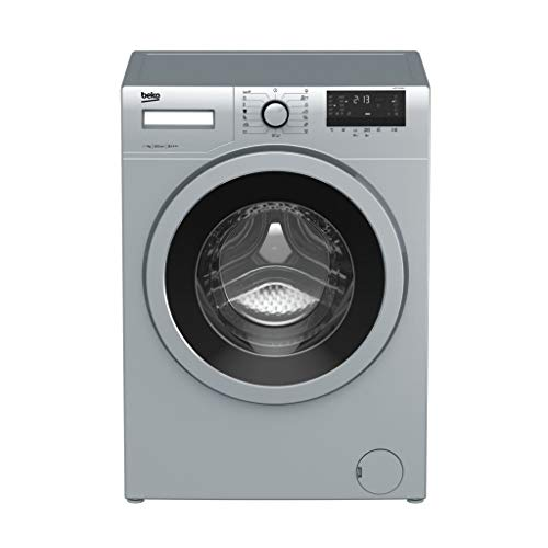 Beko WTE 7532 BCX Independiente Carga frontal 7kg 1000RPM A+++ Acero inoxidable - Lavadora (Independiente, Carga frontal, Acero inoxidable, Giratorio, Tocar, Izquierda, 170°)