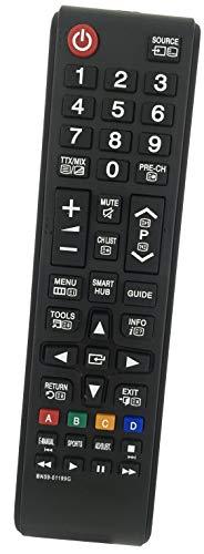 BELIFE® Ersatz Fernbedienung passend für Samsung UE40J5250 | UE40JU6000 | UE40JU6000W | UE40JU6050 | UE40JU6050UXZG | UE40JU6070