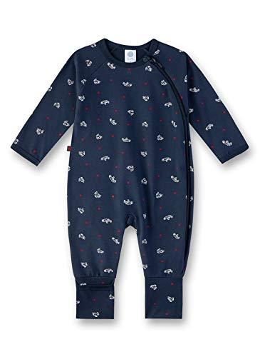 Sanetta Baby-Jungen Overall Strampler, Blau (Nordic Blue 5962), 62 (Herstellergröße: 062)