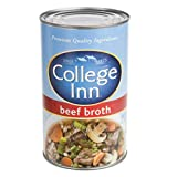 College Inn Beef Broth - 48 oz. can, 12 per case