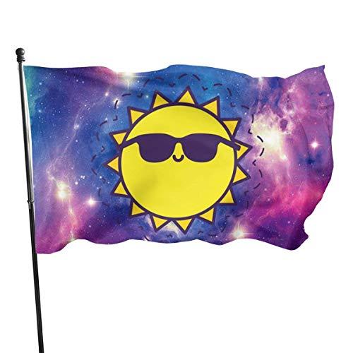 Tiffany Church Bandera de Gafas de Sol: 3 x 5 pies Bandera Resistente La Bandera más Fuerte y Duradera Bandera Nacional Banderas para Exteriores