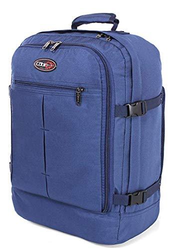 CABIN GO 5540 Zaino bagaglio a mano cabina da viaggio leggero, Valigia Borsa da cabina 55x40x20 cm 44 litri. Approvato volo IATA EasyJet Ryanair