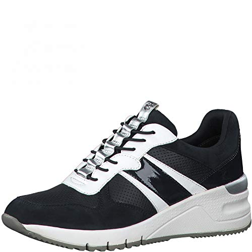 Tamaris Damen Sneaker 1-1-23787-36 890 blau normal Größe: 38 EU