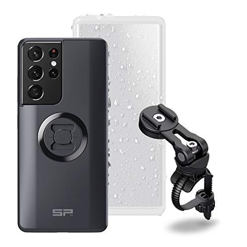 SP Connect Handyhalterung Bike Bundle II, Black/Transparant, Samsung S21 Ultra