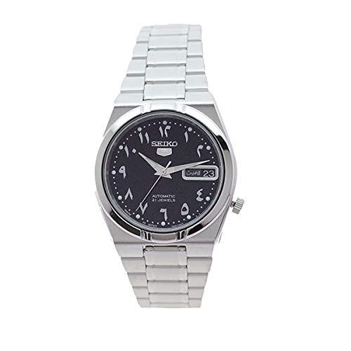 セイコー SEIKO 腕時計 SNK063J5 セイコー5 SEIKO5 自動巻き ブラック シルバー【メンズ】 [並行輸入品]