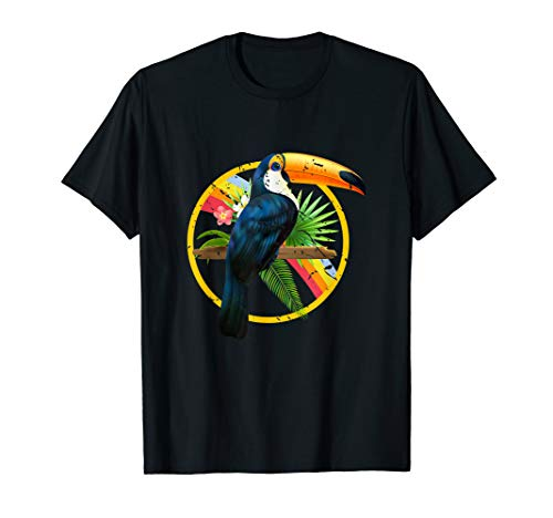 Tropical Toucan Exotic Birds Gift Toucan T-Shirt