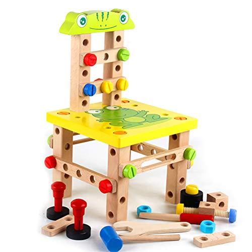 ROCK1ON Montessori-Spielzeug für Kleinkinder - STEM/STEAM-Therapiespielzeug | Kinder Lernspielzeug | Baustein Spielzeug | Sensorisches Spielzeug für autistische Kinder - Alter 3+