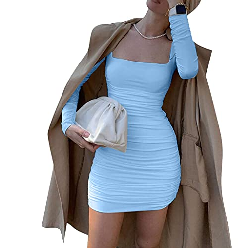 KIACIYA Y2K Damen Minikleid Trägerkleid...