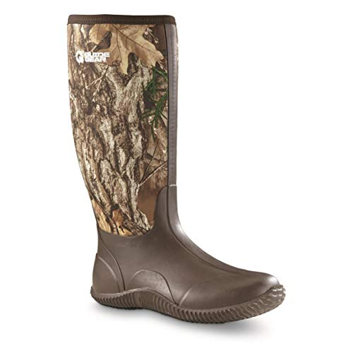 Guide Gear Men's High Camo Bogger Rubber Boots