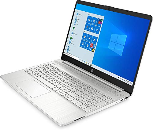 HP Laptop 15-dy1079ms (Core i7-1065G7) 15.6 Full HD 1920x1080 IPS touchscreen 12GB DDR4 Ram, 256GB SSD, Webcam, HDMI, Silver, Windows 10 Home