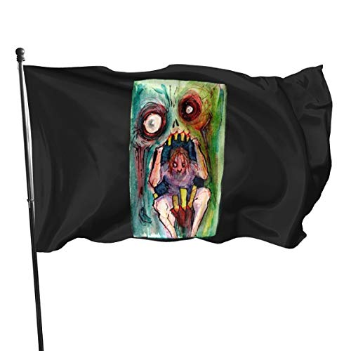 N/D Devoured By The Madness Zombie Apocalypse Malflagge, Banner, Flaggen, 10 m