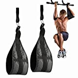 FALETO Ab Slings Straps for Abdominal Muscle Building, Hanging Ab Straps for Ab Workouts and Core Strength Training