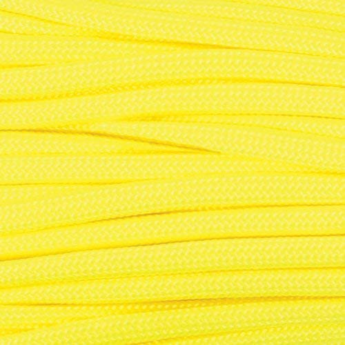 Atwood Rope Paracorde à 7 brins Type III Jaune fluo 249,5 kg