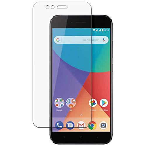disGuard Schutzfolie für Xiaomi Mi A1 [2 Stück] Entspiegelnde Bildschirmschutzfolie, MATT, Glasfolie, Panzerglas-Folie, Bildschirmschutz, Hoher Festigkeitgrad, Glasschutz, Anti-Reflex