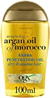 OGX Hair Oil Renewing Plus Argan Oil of Morocco Extra Penetrating Oil Dry and Coarse Hair Types 100ml