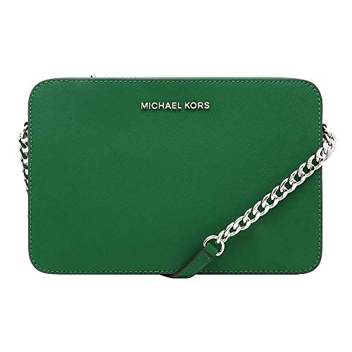 Michael Kors Women's Jet Set Item Crossbody Bag (Jewel Green)