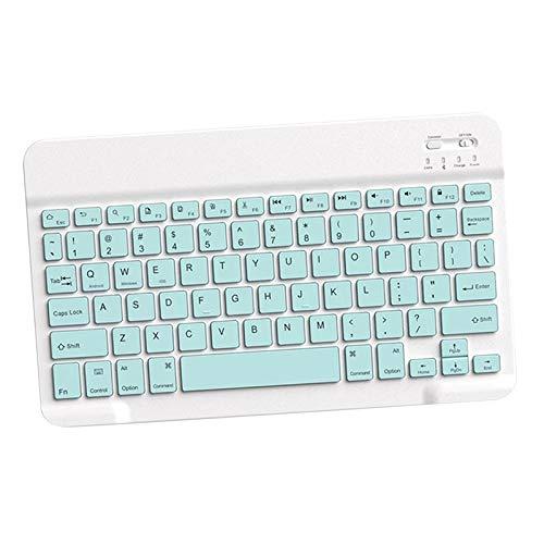 """#N/A/a Teclado inalámbrico Bluetooth 10 """"para Tablet Ordenador portátil de sobremesa Teclado para Ordenador portátil - Verde"""