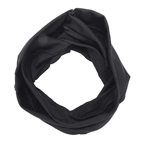 Heritan Chic Women Cotton Turban Twist Knot Head Wrap Headband Twisted Knotted Hair Band Black