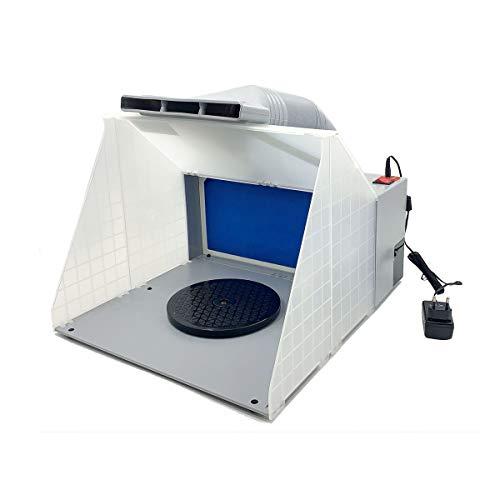Cozyel Extractor de aerógrafo 4m³ / min Filtro de Color Vapor de Pintura para neblina de Pintura Filtro de Recambio de Aire Exterior Aerosol de Aire Exterior