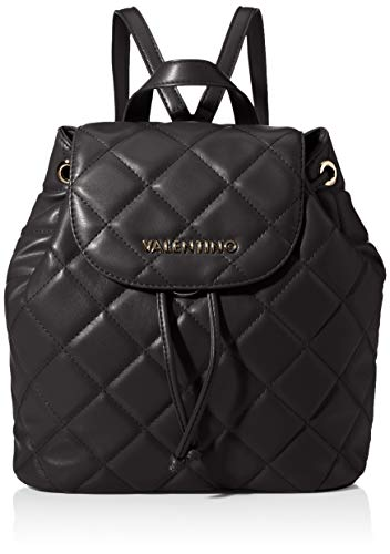 Mario Valentino Valentino by Damen Handbag Rucksack, Schwarz (Nero), 9x17x25.5 cm