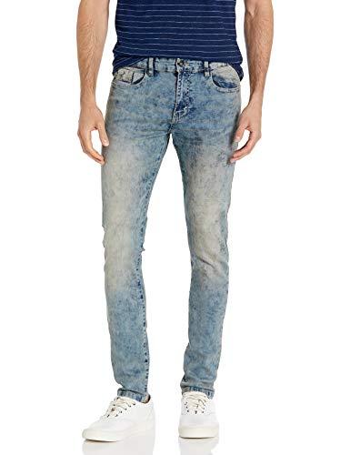 10. Southpole Men's 9181 Super Skinny Tech Stretch Denim Pants
