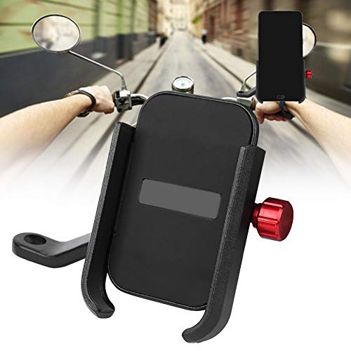ohcoolstule Soporte de Teléfono Móvil para Bicicleta Accesorio de Soporte Fijo para Scooter Eléctrico de Navegación para Bicicleta