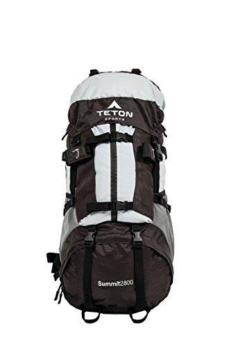 Teton Sports Summit2800 Sac à dos ultraléger avec cadre interne Argenté 67 x 33 x 25,4 cm