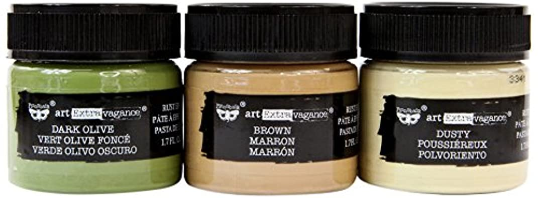 Prima Marketing Camouflage Set of 3 Art Extravagance - Rust Paste