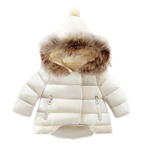 Veste à capuche Kid Cute Baby filles garçons Parka veste manteau Automne Hiver chaud enfants Vêtements for 0-5 ans Manteaux d'hiver chauds Manteau d'hiver mince ( Color : Red , Size : 110cm )
