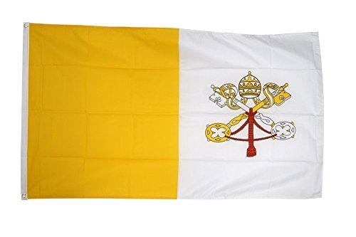 Flaggenfritze Fahne/Flagge Vatikan + gratis Sticker