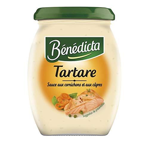 Bénédicta - 260G Salsa Tártara - Lot De 4 - Precio Por Lote - Entrega Rápida