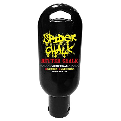 spider chalk 2oz Liquid Chalk for Gym, Weightlifting, Rock Climbing, Gymnastics. Safe Ingredients, No Harmful Fillers, Made in The USA