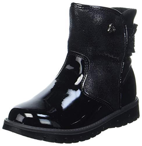 PRIMIGI Baby Mädchen PRX 63574 First Walker Shoe, Nero/Nero/Nero,23 EU
