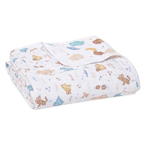 aden + anais 100% Cotton Muslin Dream Blanket, 120x120cm, Newborn Nursery &...