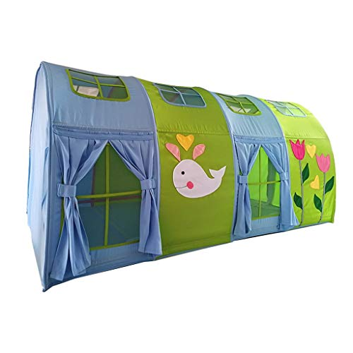 Play Tents Kids Large Tent For Bed Kids Tent Playhouse For Kids Indoor Tent To Prevent Entry Of Mosquitoes Children Gift (Color : Green, Size : 180 * 100 * 92cm)