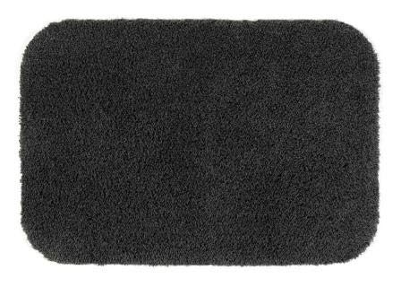 Turtle voetmat met latex onderkant, 75 x 100 cm, grijs