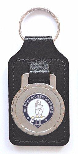 1000 Flags Lamont Clan écossais Nom Nom Crest en émail et métal Porte-clés/FOB
