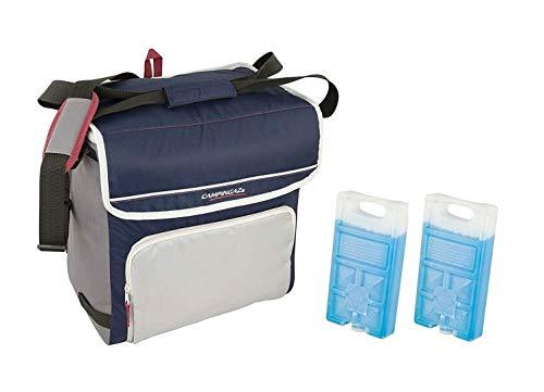 ALTIGASI Sac isotherme Fold'N Cool Campingaz de 30 litres avec bandoulière réglable et poche frontale - Performance jusqu'à 12 heures + 2 pièces Freez Pack M10