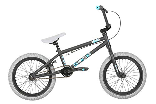 "HARO Downtown 16"" 2019 BMX Freestyle (16.4"" - Matte Black)"