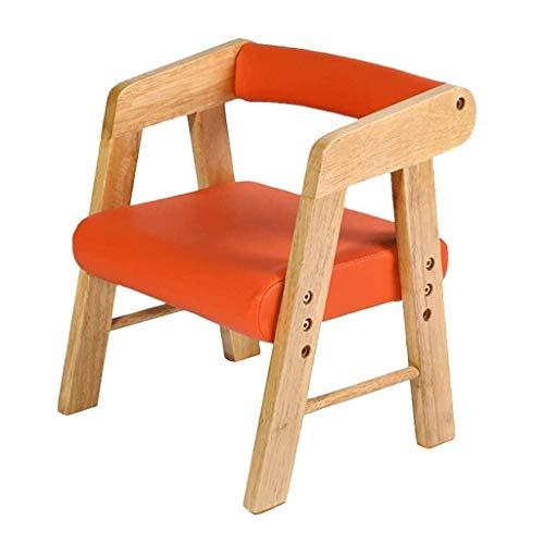 ECSWP Sessel, Massivholz, Kinderstuhl, hebendes kleines Holzsofa, Kindergartenstuhl, Essstuhl (Color : C)