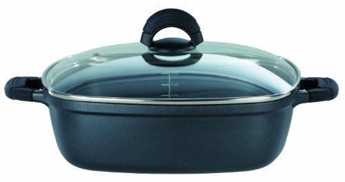 GSW 458276 SilcoGUSS noir Viereckbräter - 28cm