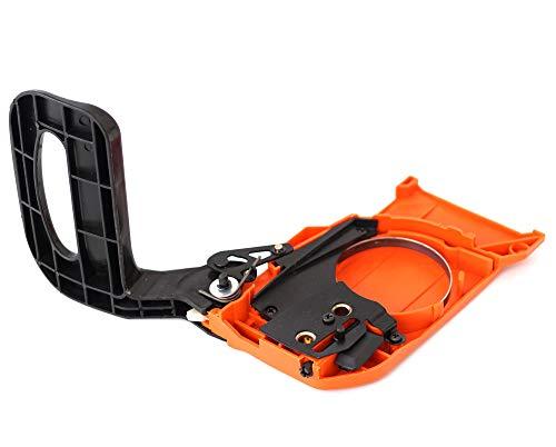 Kettenbremse Kettenraddeckel für Motorsägen Kettensägen mit 45, 52, 58 ccm 2-Takt-Motor z.B. Erman Plantiflex Powermat Timbertech usw.