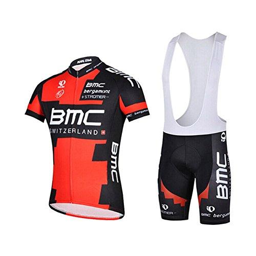 Completo con Maglia a maniche corte in jersey, da ciclismo, per uomo, Uomo, bib suit 1, XL